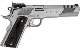 "Iver Johnson Arms GIJ35 Johnson Eagle XL Ported 6"" Adjustable Polished Chrome"