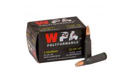 Wolf Polyformance 5.45x39 55gr HP Ammo - 750rd Case