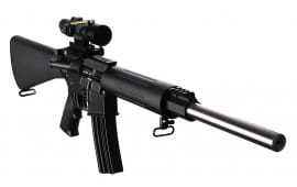 "DPMS 60507 Sweet 16 Varmint/Target Semi-Auto .223/5.56 NATO 16"" 30+1 A2 Black/Stainless Steel"