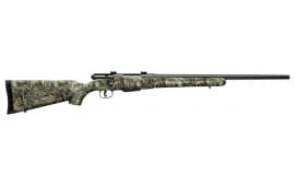 "Savage 19978 25 Walking Varminter Bolt 17 Hornet 22"" 4+1 Synthetic Realtree Xtra Green Stock Black"