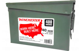 Winchester Ammo WW40C 40S 165FMJ TC CAN (2@400) 800rd - 800rd Case