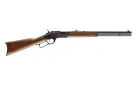 "Winchester Guns 534202137 1873 Short Rifle Case Hardened Lever 357 Magnum/38 Special 20"" 10+1 Grade II/III Walnut Stock Blued"