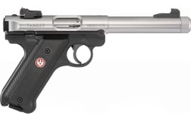 Ruger 40163 MKIV Target 5.5 AS TB SS/BL