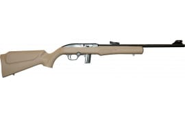 "Rossi RS22FDE RS22 Semi-Auto 18"" 10+1 Synthetic Flat Dark Earth Stock Black"