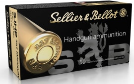 Sellier & Bellot SB357C 357 MAG 158 SJHP - 50rd Box