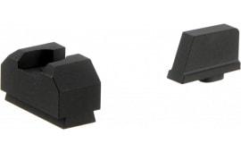 ZEV SIGHT.SET-300-CW-B-CW-B .300 Black FRONT/REAR