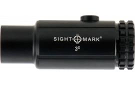 Sightmark SM19063 T-3 Magnifier 3x 23mm Obj Black Matte