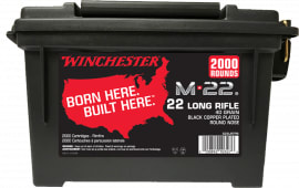 Winchester Ammo S22LRTPB 22LR CAN (2@2000)4000rd - 4000rd Case