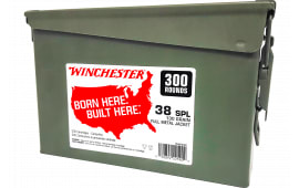 Winchester Ammo WW38C 38 130FMJ CAN (2@300) 600rd - 600rd Case