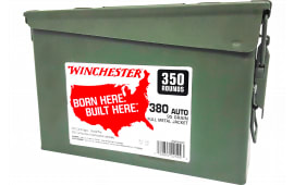 Winchester Ammo WW380C 380 95FMJ CAN (2@350) 700rd - 700rd Case