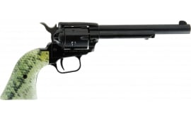 HER RR22B6FISH1 6.5 BK LG Mouth SCL Grip Revolver