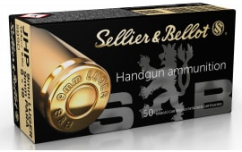 Sellier & Bellot SB9D 9mm 124 Jacketed Hollow Point - 50rd Box