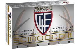 Fiocchi 270SCA Extrema Hunting 270 Winchester 130 GR Spitzer Boat Tail - 20rd Box
