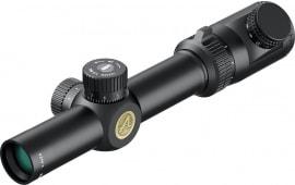 Athlon 215025 Talos BTR 1-4x 24mm Obj 110-26 ft @ 100 yds FOV 30mm Tube Black Matte Illuminated AHSR14 Mil (SFP)