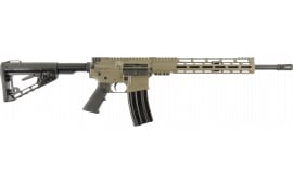 "Diamondback DB-15 Elite Semi-Automatic AR-15 Rifle .223/5.56 30rd 16"" Barrel - FDE Finish- DB15CCMLFDE"
