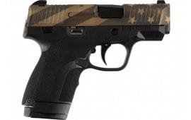 HD HG9SCFLGBLK Subcompact Flag Black Grip