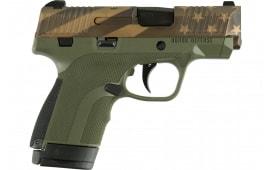 HD HG9SCFLGOD Subcompact Flag Odgrn Grip