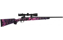 "Savage 22208 11 Trophy Hunter XP Youth Bolt 308 Win/7.62 NATO 20"" 4+1 Synthetic Muddy Girl Stock Black"