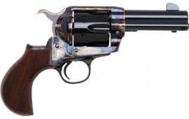 """E.M.F PE357CHSLG312N Express Agent .357MAG 3 1/2"""" Blue Checkered Walnut Revolver"""