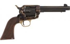 "E.M.F HF45CHSAR712NM Alchimista I .45LC 7 1/2"" Blue Checkered Walnut Revolver"