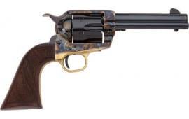 "E.M.F HF45ALC512NMCW Alchimista II .45LC 5 1/2"" Blue Checkered Walnut Revolver"