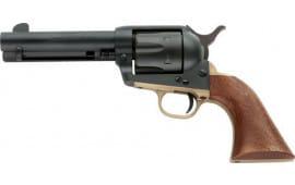 """E.M.F DA45MBAB434NM Dakota II .45LC 4 3/4"""" Blue Walnut Revolver"""