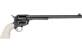 """E.M.F HF45CHS12NMUI Buntline .45LC 12"""" Blue Ultra Ivory Grip Revolver"""