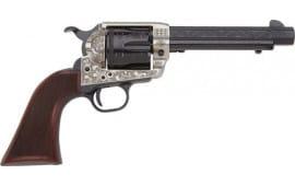 """E.M.F W357ALO434NMCW DLX Alchimista III .357MAG 4 3/4"""" OCT. BL/SIL Walther Revolver"""