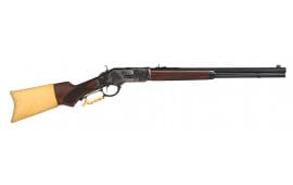 "Taylors and Company 2017 1873 Comanchero Lever 357 Magnum 20"" 10+1 Walnut Stock Black"