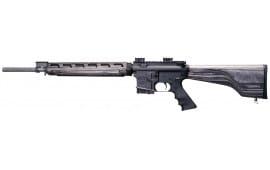 "Windham Weaponry R20FSSFTWS1 R20 VEX Wood Stock Series Semi-Auto .223/5.56 NATO 20"" 5+1 Laminate Pepper Stock Black/Stainless Steel"