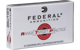 Federal RTP556 223 55 FMJ RNGTRT - 20rd Box