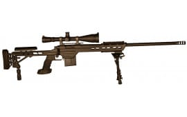 """MasterPiece Arms 308BABLK Bolt Action 308 Win/7.62 NATO 24"""" 10+1 MasterPiece Arms Tactical Chassis Aluminum Black Cerakote"""