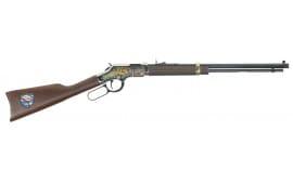 """Henry H004TT Golden Boy Trucker''s Edition Lever 22 Short/Long/Long Rifle 20"""" 16 LR/21 Short American Walnut Stock Blued Barrel/Nickel Receive"""
