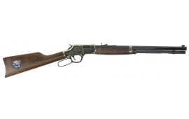 "Henry H006TT Big Boy Trucker''s Edition Lever 44 Magnum 20"" 10+1 American Walnut Stock Blued Barrel/Brass Receive"