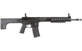 """Troy SPMPAR000BT PAR Sporting Rifle Pump 223Rem/5.56 16"""" MB 10+1 5Pos Stock Black"""