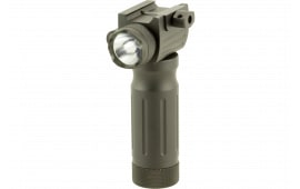 Sun Optics CLFLGC Tactical Forend Grip/Laser Green Laser Any with Rail Picatinny or Similar Rails