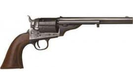"Cimarron CA903 1872 Open TOP Army .38SP 7.5"" FS CC/BLUED Walnut Revolver"