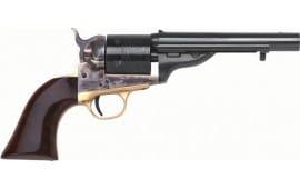 "Cimarron CA908 1872 Open TOP Navy .38SP 5.5"" FS CC/BLUED Walnut Revolver"