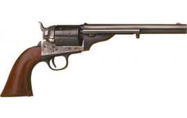 "Cimarron CA910 1872 Open TOP Army .44SP 7.5"" FS CC/BLUED Walnut Revolver"