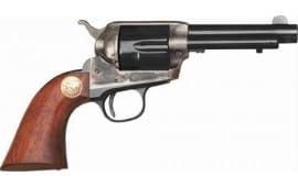 """Cimarron CA986 Model P JR .38 SPL FS 4.75"""" CC/BLUED Walnut Revolver"""