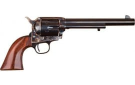"""Cimarron MP504 P-MODEL .38 SPL/.357 OM FS 7.5"""" CC/BLUED Walnut Revolver"""