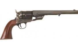 "Cimarron CA9054 1851 RICHARDS-MASON TYP2 .38SP 8"" FS CC/BL Walnut Revolver"