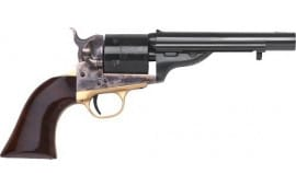 "Cimarron CA917 1872 Open TOP Navy .45LC 5.5"" FS CC/BLUED Walnut Revolver"