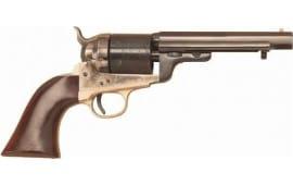 "Cimarron CA926 1851 RICHARDS-MASON .38 SPL 5.5"" FS CC/BLUED Walnut Revolver"