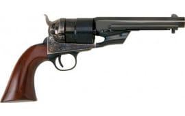 "Cimarron CA9063 1851 RICHARDS-MASON TYP2 .38SP 5.5"" CC/BL Walnut Revolver"