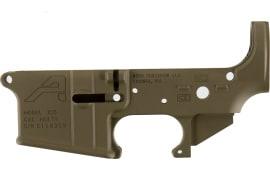 Aero Precision APAR501302C AR-15 Stripped Lower Receiver Gen2 Flat Dark Earth Cerakote