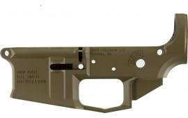 Aero Precision APAR600002C M4E1 Stripped Lower Receiver AR-15 Platform Flat Dark Earth Cerakote