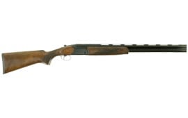 "Dickinson Hunter OS Over/Under 12 GA 26"" 3"" Wood Stock White Steel"