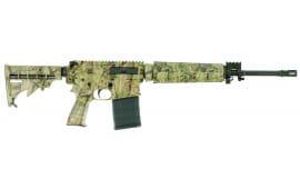 """Windham Weaponry R16FTT308C3 WW-15 SRC Semi-Auto 308 Winchester/7.62 NATO 16.5"""" 20+1 6-Position TimberTec Camo Stock TimberTec Camo/Black"""