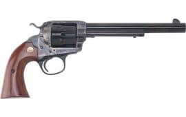 "Cimarron CA604 SAA Bisley .38/.357 FS 7.5"" CC/BLUED Walnut Revolver"
